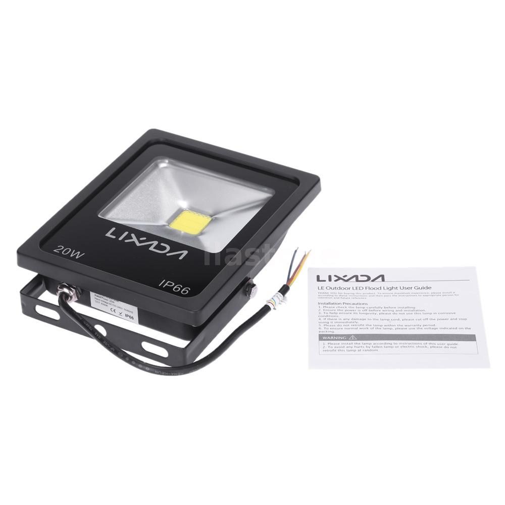 new brightest 20w led flood light white outdoor waterproof for court. Black Bedroom Furniture Sets. Home Design Ideas