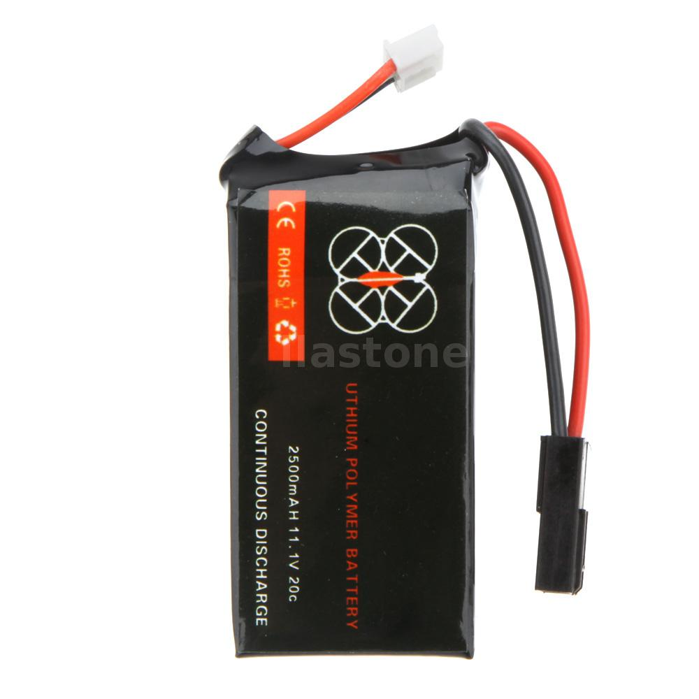 2 pcs lipo battery 11 1v 2500mah 20c for parrot ar drone 2 0 quadcopter c8b7 ebay. Black Bedroom Furniture Sets. Home Design Ideas