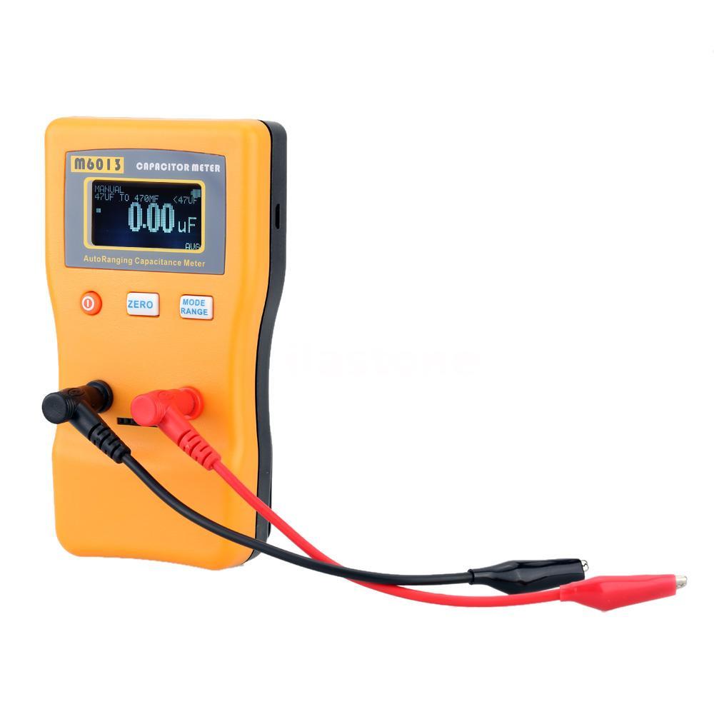 Esr Capacitor Tester : M esr capacitor meter capacitance resistance circuit