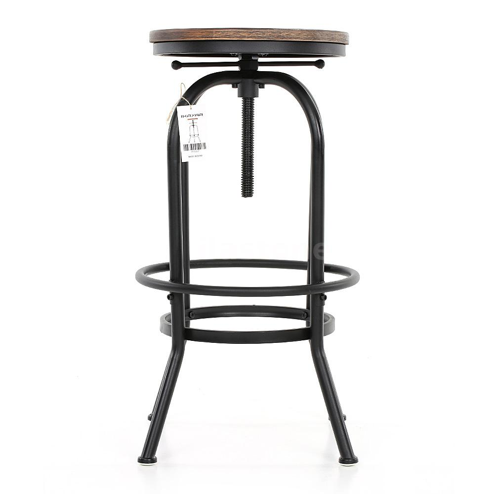 Vintage Bar Stool Industrial Metal Design Wood Top  : H16837 1 2b9c 5YOz from www.ebay.com size 1000 x 1000 jpeg 48kB