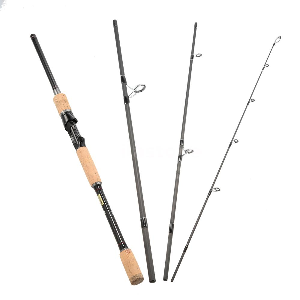 portable spinning fishing rod medium rod pole