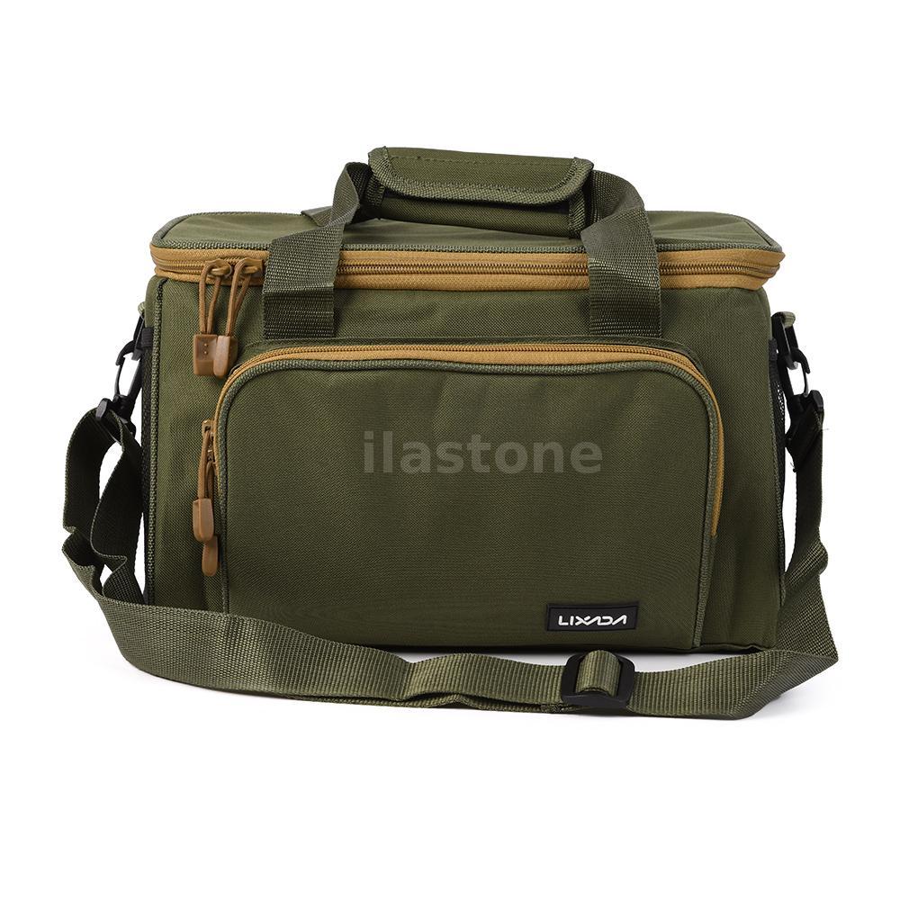 Large fishing bag waterresistant saltwater reel bag for Fishing tackle box backpack
