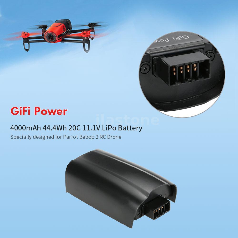 gifi power 4000mah 20c 11 1v lipo battery for parrot bebop 2 drone j6w9 738920379967 ebay. Black Bedroom Furniture Sets. Home Design Ideas